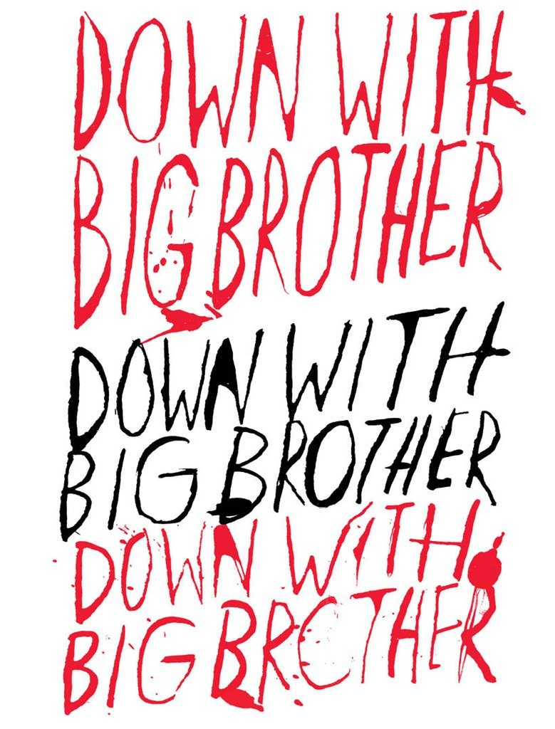 Down With Big Brother poster